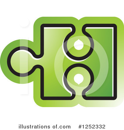 Puzzle Piece Clipart #1252332 by Lal Perera