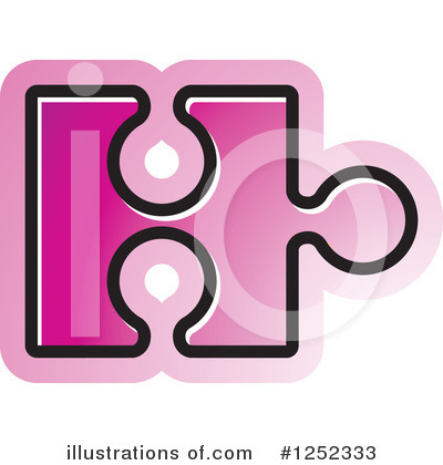 Puzzle Piece Clipart #1252333 by Lal Perera