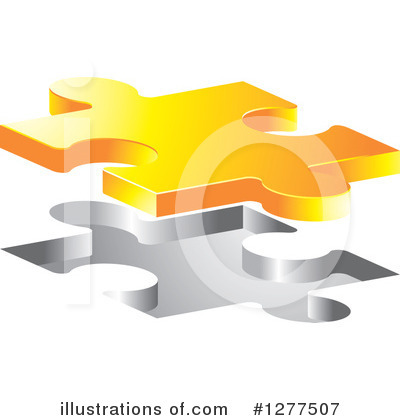 Puzzle Piece Clipart #1277507 by Lal Perera