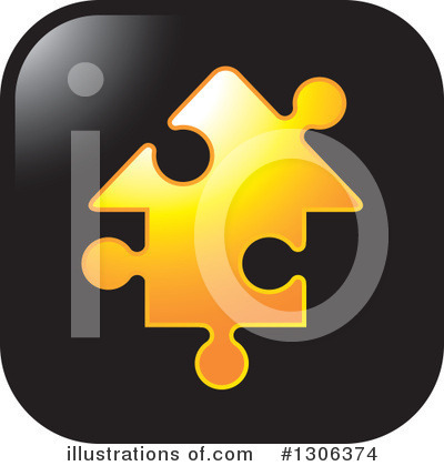 Puzzle Piece Clipart #1306374 by Lal Perera