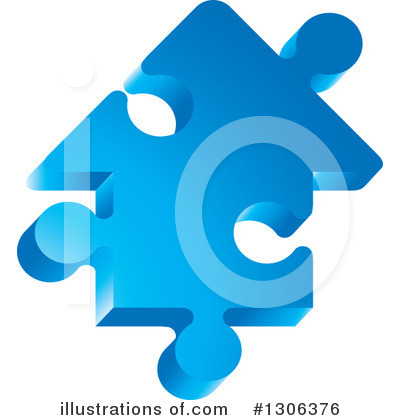 Puzzle Piece Clipart #1306376 by Lal Perera
