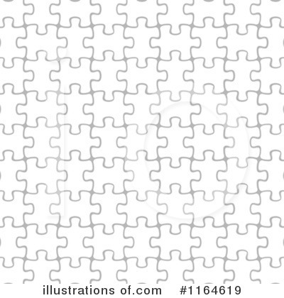 Royalty-Free (RF) Puzzle Pieces Clipart Illustration by vectorace - Stock Sample #1164619