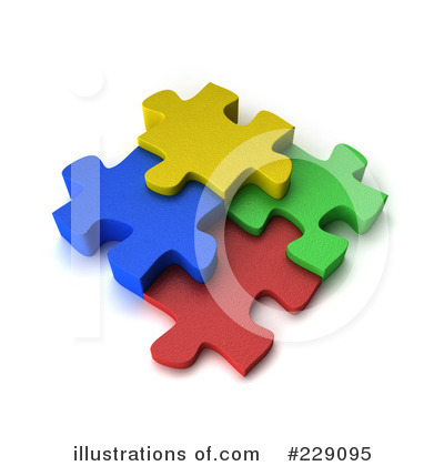 Puzzle Clipart #229095 by stockillustrations