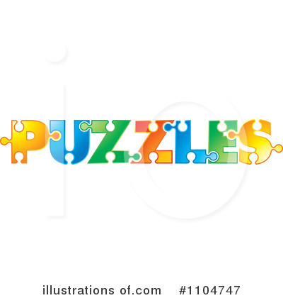 Puzzle Piece Clipart #1104747 by Lal Perera
