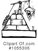 Royalty-Free (RF) pyramid Clipart Illustration #1055306