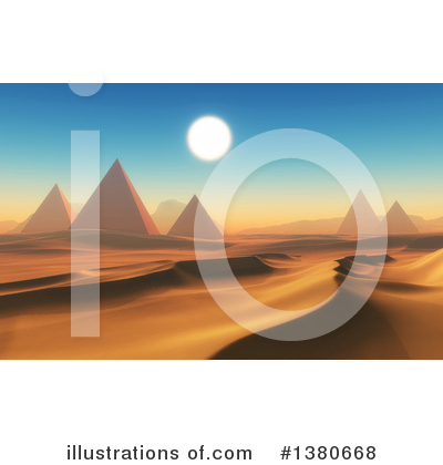 Pyramids Clipart #1380668 by KJ Pargeter