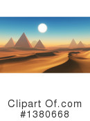 Royalty-Free (RF) Pyramids Clipart Illustration #1380668