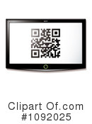 Qr Code Clipart #1092025 by michaeltravers