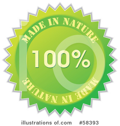 Royalty-Free (RF) Quality Seal Clipart Illustration by MilsiArt - Stock Sample #58393
