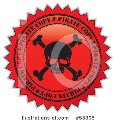 Royalty-Free (RF) Quality Seal Clipart Illustration by MilsiArt - Stock Sample #58395