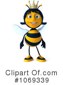Queen Bee Clipart #1069339