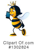 Queen Bee Clipart #1302824 by Julos