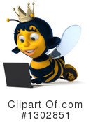 Queen Bee Clipart #1302851 by Julos