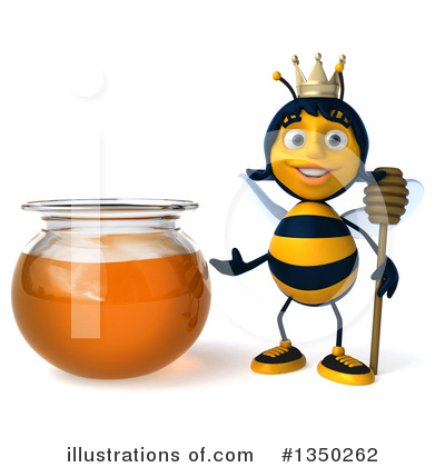 Bee Clipart #1350262 by Julos