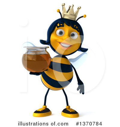 Bee Clipart #1370784 by Julos