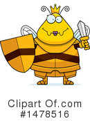 Queen Bee Clipart #1478516 by Cory Thoman