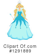 Royalty-Free (RF) Queen Clipart Illustration #1291889
