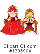Royalty-Free (RF) Queen Clipart Illustration #1306904