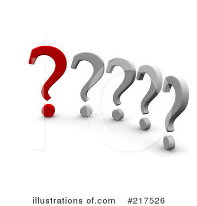 Question Mark Clipart #217526 by Jiri Moucka