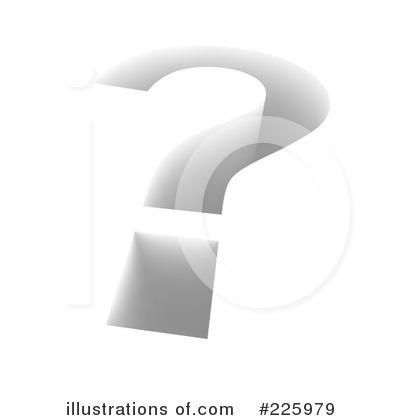 Question Mark Clipart #225979 by Jiri Moucka