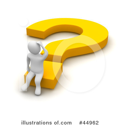 Question Mark Clipart #44962 by Jiri Moucka