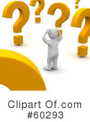 Question Mark Clipart #60293 by Jiri Moucka