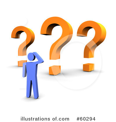 Question Mark Clipart #60294 by Jiri Moucka