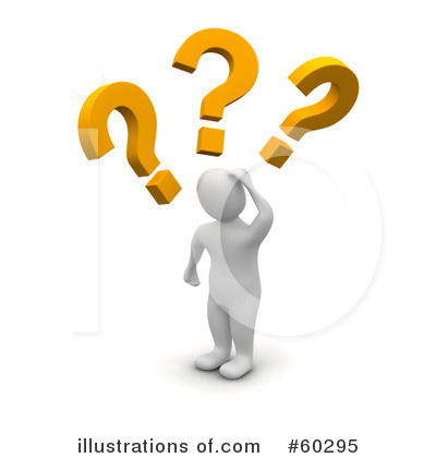 Question Mark Clipart #60295 by Jiri Moucka