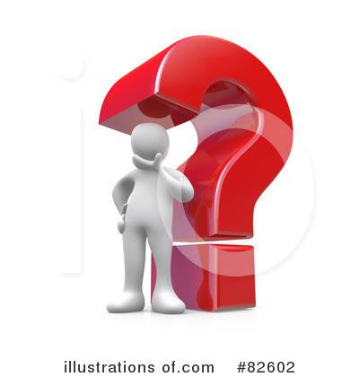 Question Mark Clipart #82602 by 3poD
