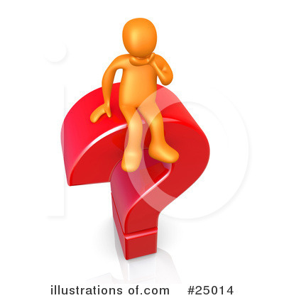 Question Mark Clipart #25014 by 3poD