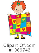 Quilt Clipart #1089743 by Maria Bell