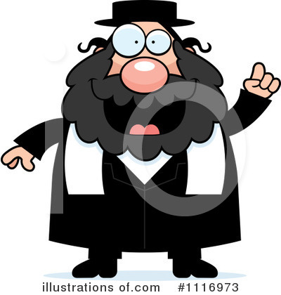 Royalty-Free (RF) Rabbi Clipart Illustration by Cory Thoman - Stock Sample #1116973