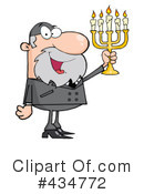 Royalty-Free (RF) Rabbi Clipart Illustration #434772
