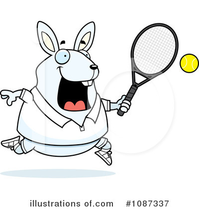 Tennis Clipart #1087337 by Cory Thoman
