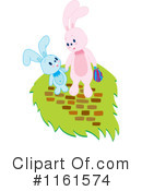 Royalty-Free (RF) Rabbit Clipart Illustration #1161574