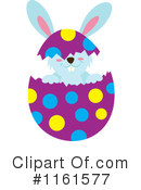 Royalty-Free (RF) Rabbit Clipart Illustration #1161577