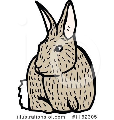Rabbit Clipart #1162305 by lineartestpilot