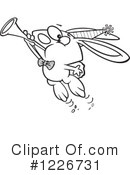 Rabbit Clipart #1226731 by toonaday