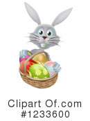 Royalty-Free (RF) Rabbit Clipart Illustration #1233600