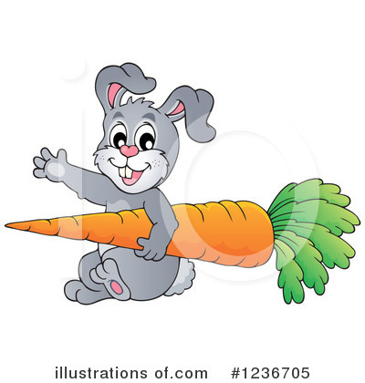 Rabbit Clipart #1236705 by visekart