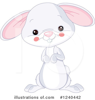 Rabbit Clipart #1240442 by Pushkin
