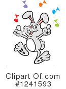 Rabbit Clipart #1241593 by Johnny Sajem