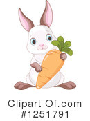Rabbit Clipart #1251791 by Pushkin