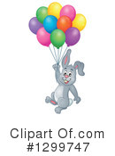 Royalty-Free (RF) Rabbit Clipart Illustration #1299747