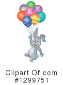 Royalty-Free (RF) Rabbit Clipart Illustration #1299751
