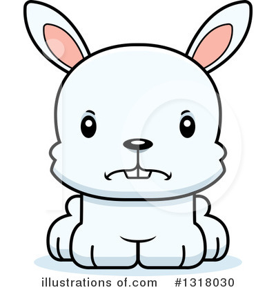 Rabbit Clipart #1318030 by Cory Thoman