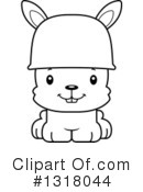 Rabbit Clipart #1318044 by Cory Thoman