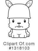 Rabbit Clipart #1318103 by Cory Thoman