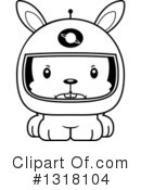 Rabbit Clipart #1318104 by Cory Thoman