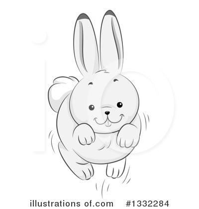 Rabbit Clipart #1332284 by BNP Design Studio